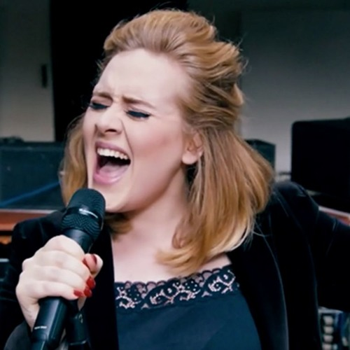 Adele - When We Were Young (Live at The Church Studios) (2015)