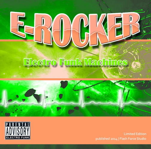 E-Rocker - Electro Funk Machines (2014)