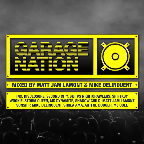 Various artists - Garage Nation 3CD [2014]
