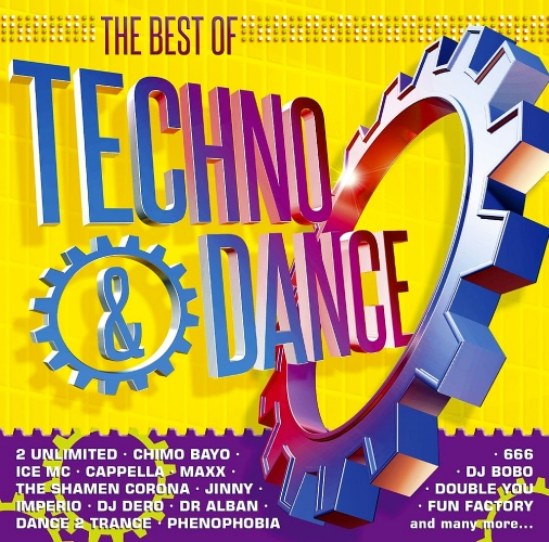 The Best Of Techno & Dance 2CD (2014)