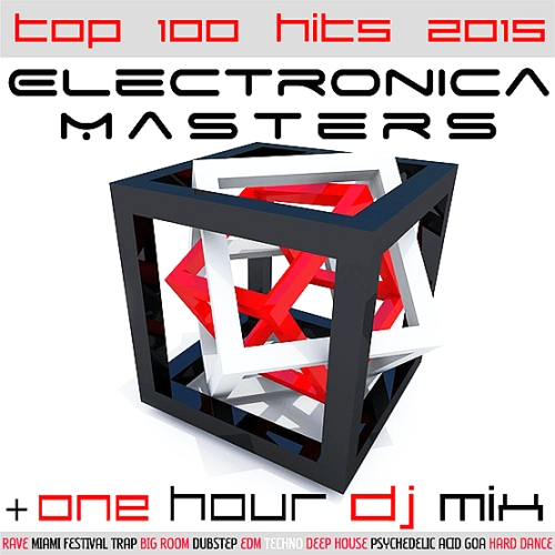 Various - Electronica Masters Top 100 Hits 2015 + One Hour DJ Mix