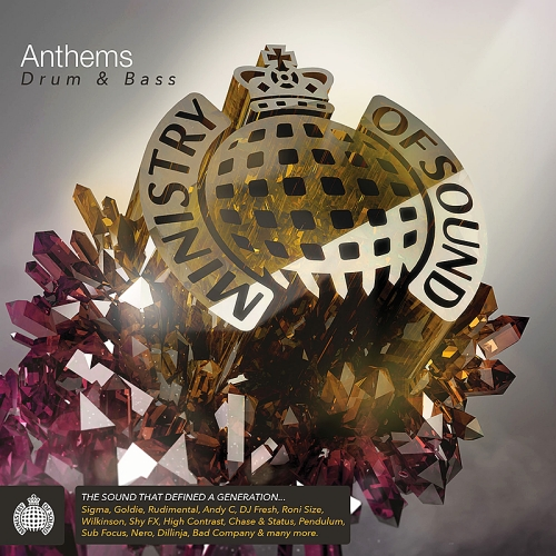 Ministry Of Sound - Anthems Drum & Bass 3CD (Explicit Lyrics)