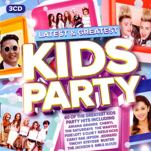 Various Artists - Latest & Greatest Kids Party [Box Set] 2015
