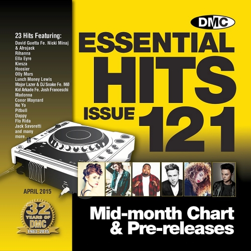DMC Essential Hits 121 - April Mid Month Release (2015)