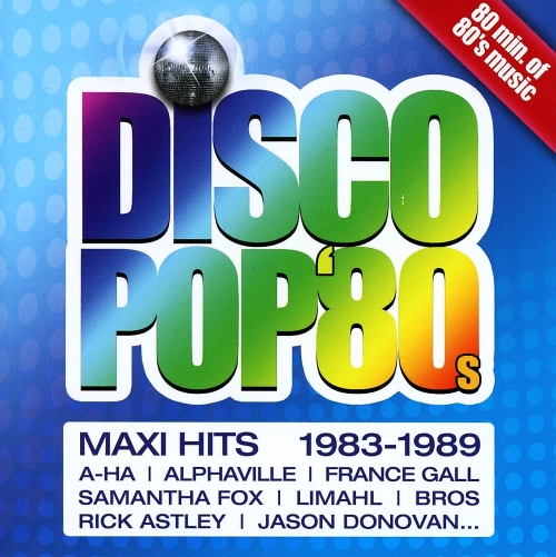 Disco Pop 80s - Maxi Hits (2015)