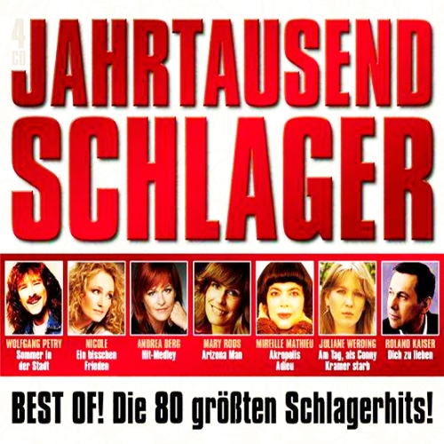 Jahrtausend Schlager 4CD [Sony Music Entertainment]