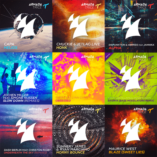 Heatbeat, Andrew Rayel, Dash Berlin, Disfunktion - Armada Trice Collection 001