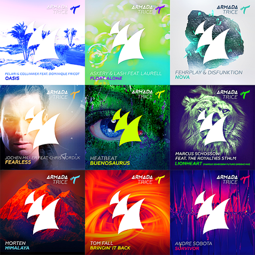 Dash Berlin, Olympic Ayres, Lost Frequencies, Jochen Miller - Armada Trice Collection 002