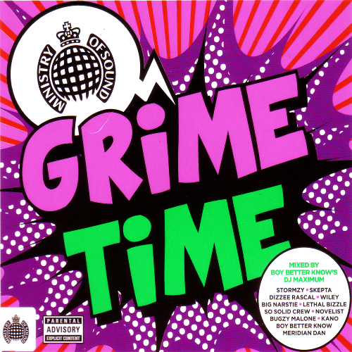 Ministry Of Sound - Grime Time [Mixed, Unmixed] (2016)